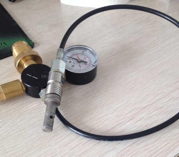 HF-CK02 High Quality Pcp Connector from Big Bottle to Small Bottle Valve Adaptor