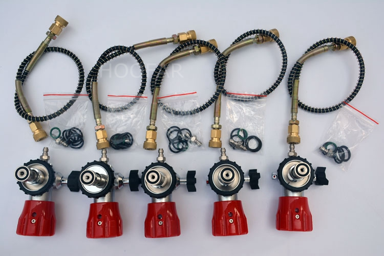 PCP refilling use with high pressure hose for air gun charging units,pumps