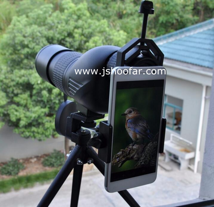 Spotting Scope Telescope And Microscope Adapter For 99.99 type smart mobile phone