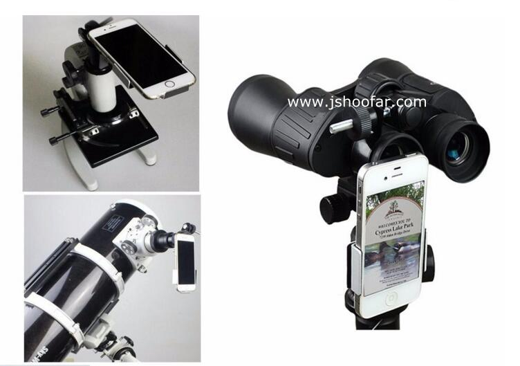 Smart mpbile Phone Adapter Mount - Compatible with Binocular Monocular Spotting Scope Telescope and Microscope
