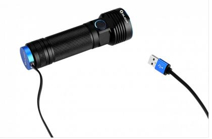 New R50 Pro seeker with 3200 lumens, high-output, rechargeable side-switch LED flashlight