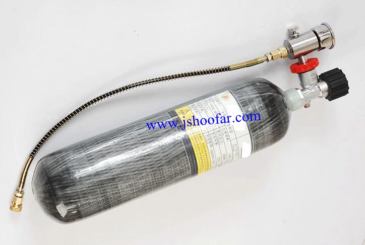 6,8L 300bar Carbon wrapped Air Cylinder with competitive Price USD120-200
