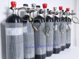 Different Liter of 4500 PSI gas cylinders