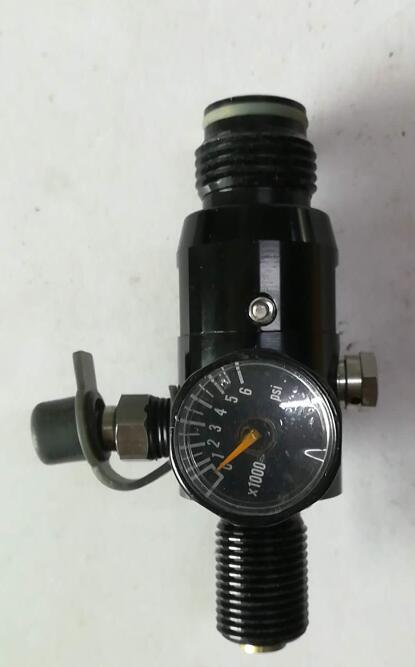 HF-CK06 New Intergral 300bar  pcp fill station with valve and manometer